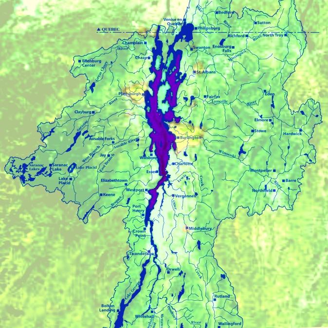 Bioremediation watershed lake champlain algae phosphorous