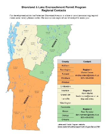 Establishing regions for lakes permit programs increasesefficiency